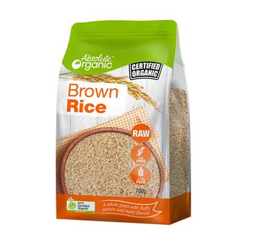 Absolute Organic Brown Rice 700g