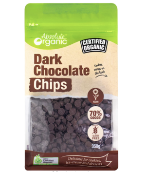 Absolute Organic Dark Chocolate Chips Devolas