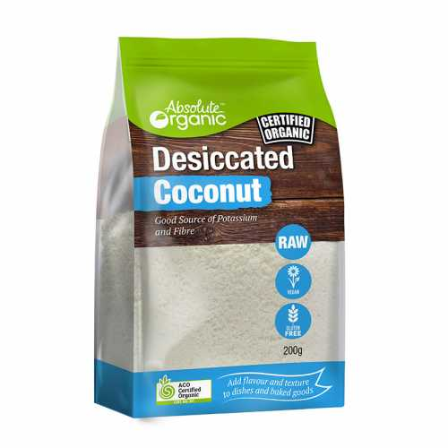 Absolute Organic Desiccated Coconut Devolas