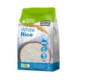 Absolute Organic White Rice 700g