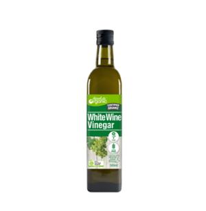 Absolute Organic White Wine Vinegar 500ml