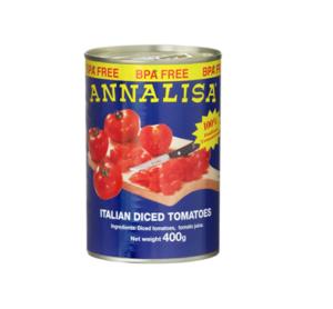 Annalisa Italian Diced Tomatoes 400g
