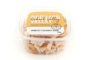 Apricot Coconut Slice