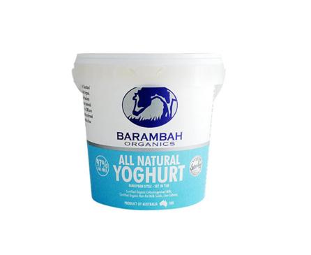 Barambah All Natural Yoghurt 1kg
