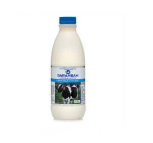 Barambah Organics Light Milk 1l