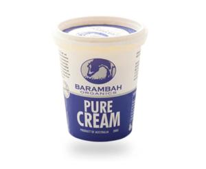 Barambah Organics Pure Cream 200g