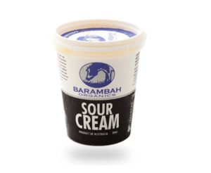 Barambah Organics Sour Cream 200g