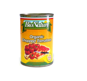 Bio Nature Organic Chopped Tomatoes 400g