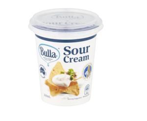 Bulla Sour Cream 200ml