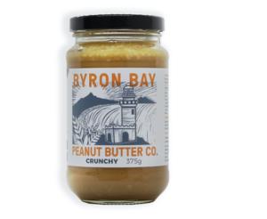 Byron Bay Crunchy Peanut Butter Salted 375g