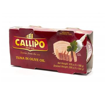 Callipo Tuna In Olive Oil X 2
