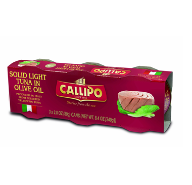 Callipo Tuna In Olive Oil X 3 80g