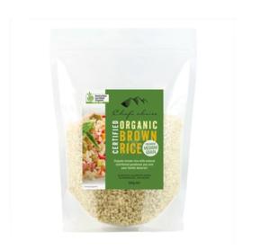 Chef's Choice Organic Brown Rice 500g