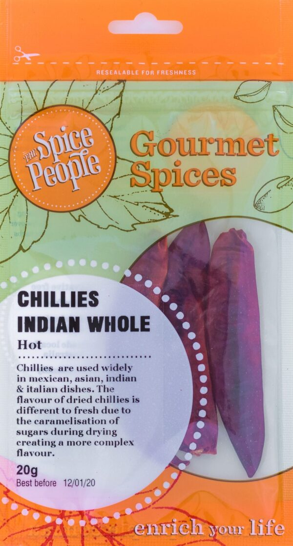 Chillies Indian Whole Spice People Devolas