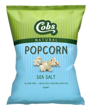 Cobs Popcorn Sea Salt 80g