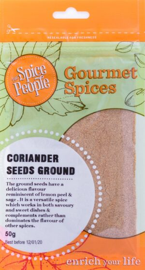 Coriander Seeds Ground Spice People Devolas