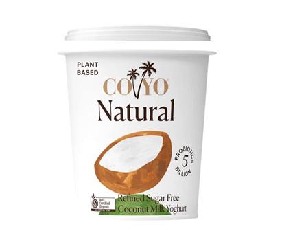 Coyo Natural Coconut Milk Yoghurt 500g