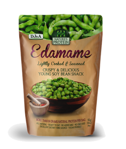 Dj&a Natures Protein Edamame, Pea & Chickpea 70g