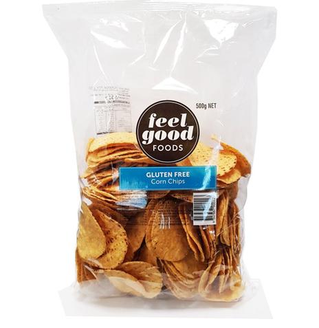 Feel Good Foods Gluten Free Corn Chips 500g