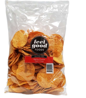 Feel Good Foods Gluten Free Nacho Cheese Corn Chips 500g