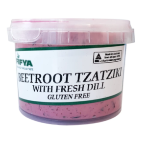 Fifya Vegan Dips Beetroot Tzatziki (gluten Free)