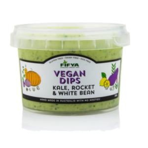 Fifya Vegan Dips Kale, Rocket & White Bean