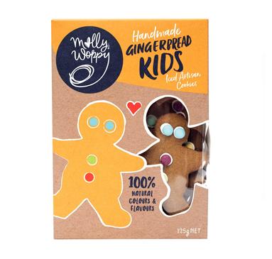 Handmade Gingerbread Kids Iced Artisan Cookies 125g