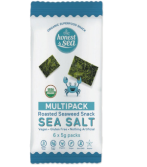 Honest Sea Seaweed Sea Salt 6x5gm