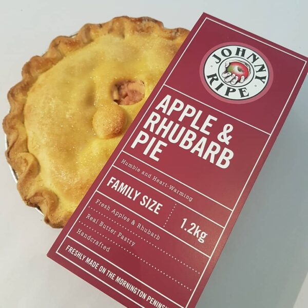 Johny Applerhubarb Pie Devolas