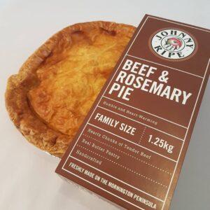 Johny Beef Rosemary Pie Devolas