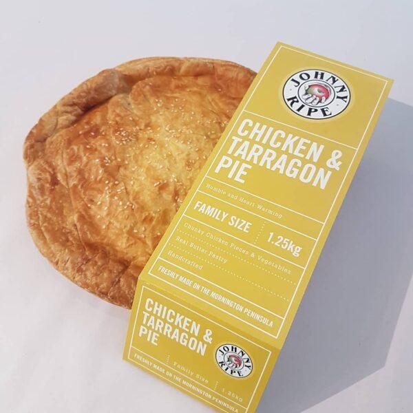 Johny Chicken Tarragon Pie Devolas