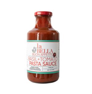 La Bella Basil + Tomato Pasta Sauce 520g