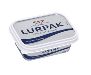 Lurpak Spreadable Slightly Salted 250g