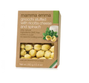 Mamma Emma Gnocchi Stuffed With Ricotta Cheese And Spinach 350g