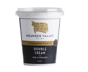 Meander Valley Double Cream 200ml