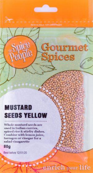 Mustard Seeds Yellow Spice People Devolas
