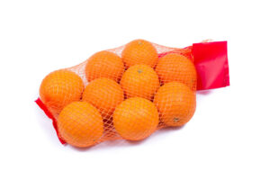Mesh Oranges From Supermarket.