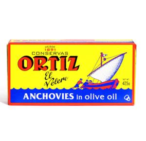 Ortiz Anchovies In Olive Oil 47.5g