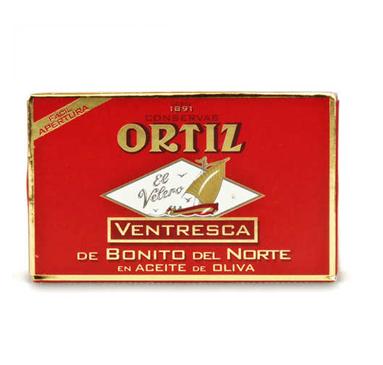 Ortiz White Tuna Ventresca In Olive Oil 110 G