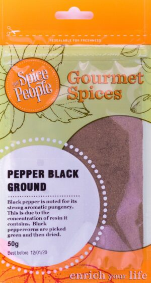 Pepper Black Ground Spice People Devolas