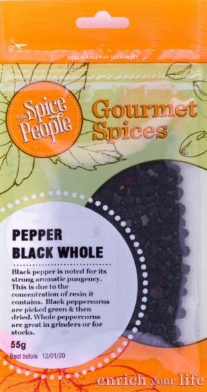 Pepper Black Whole Spice People Devolas