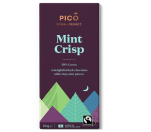 Pico Mint Crisp Chocolate 80g