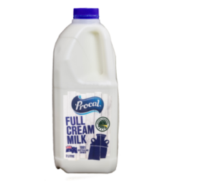 Procal Full Cream Milk 2l