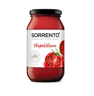 Sorrento Australian Pasta Sauces Napoletana