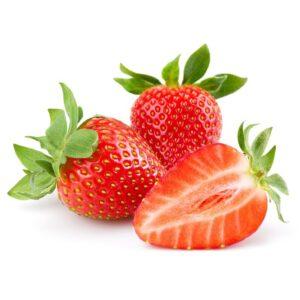 13229077 Fresh Strawberry Isolated On White Background. Studio Macro
