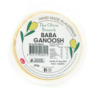The Olive Branch Baba Ganoosh 200g
