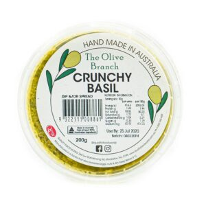 The Olive Branch Crunchy Basil 200g