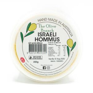 The Olive Branch Israeli Hommus 350g