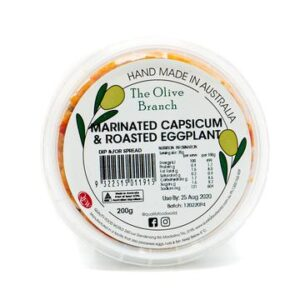 The Olive Branch Marinated Capsicum & Roasted Eggplant 200g