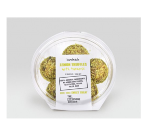 The Rawsome Kitchen Handmade Lemon Truffles
